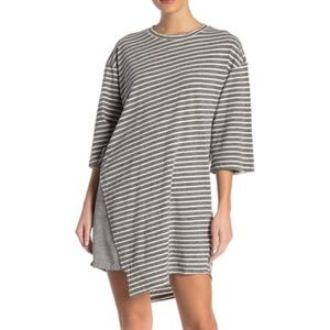 current/elliott | slice asymmetrical t-shirt dress